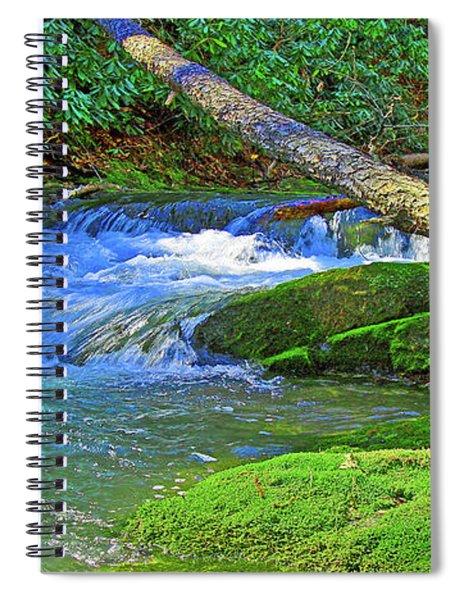 Mountain Appalachian Stream Spiral Notebook