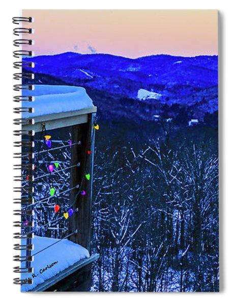 Mountain Cheer Spiral Notebook