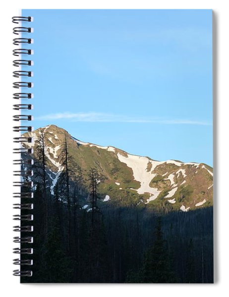 Mountain In Rocky Mountian Np Co Spiral Notebook
