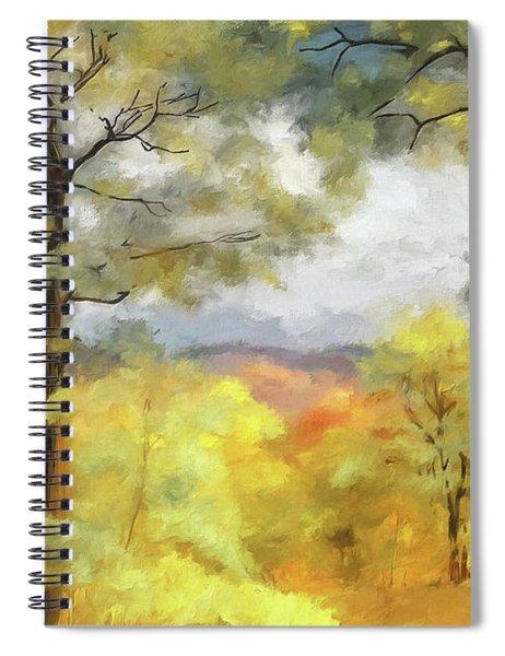 Mountain Morning Spiral Notebook