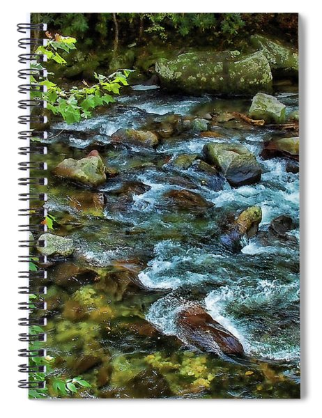 Mountain Music Spiral Notebook