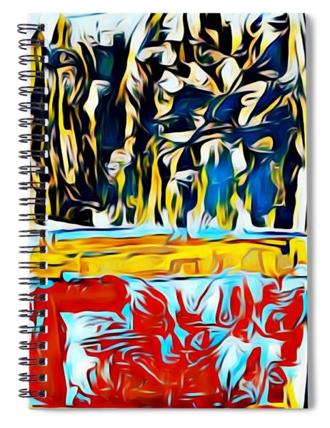 Mountain Of Many Faces Spiral Notebook