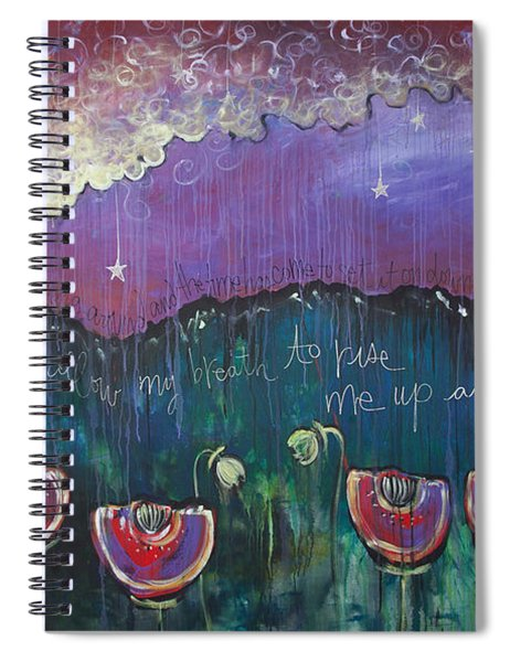 Mountain Poppies Spiral Notebook