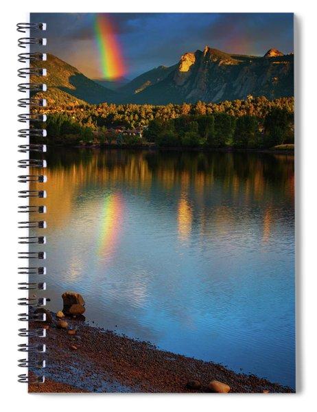 Mountain Rainbows Spiral Notebook
