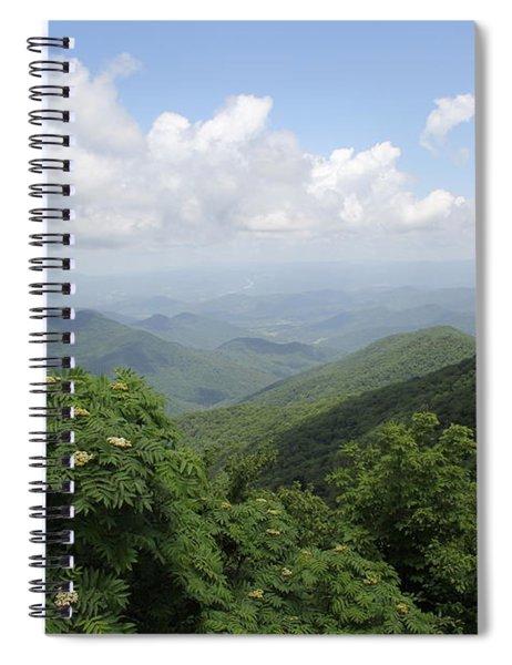 Mountain Vista Spiral Notebook