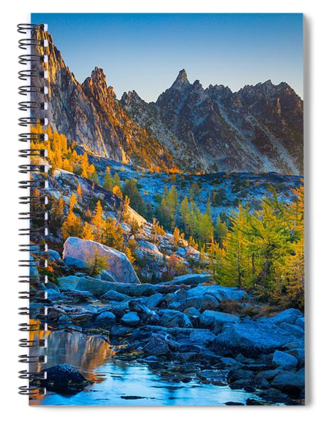 Mountainous Paradise Spiral Notebook