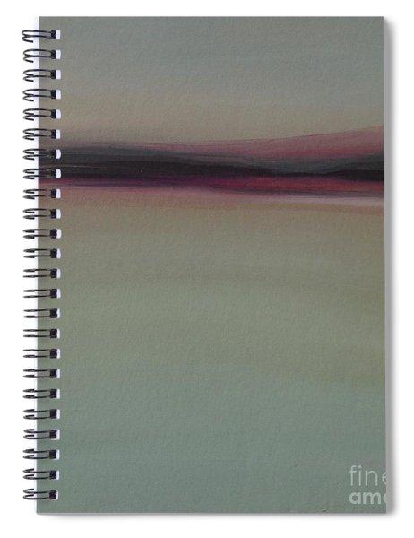 Mountains At Dawn Spiral Notebook
