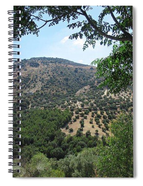 Mountains Near Iznajar Spiral Notebook