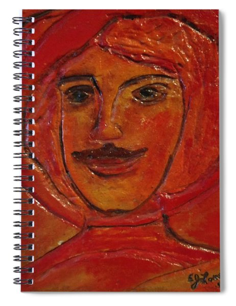Moustached Prince Spiral Notebook