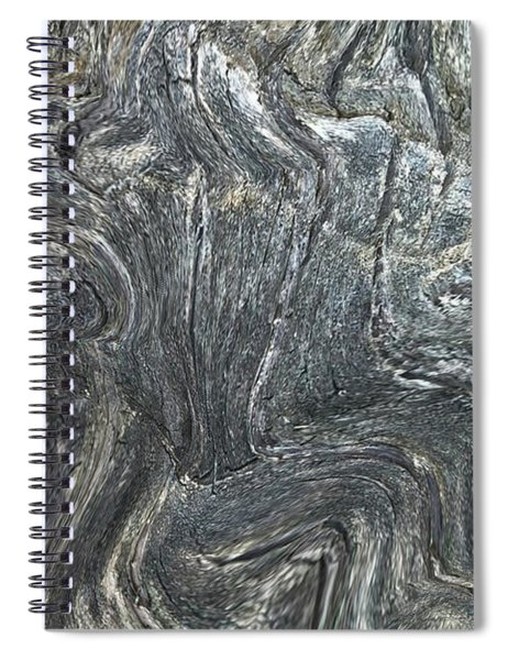 Movement In The Earth Spiral Notebook