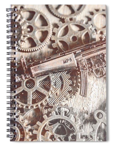 Movement Of Military Arms Spiral Notebook