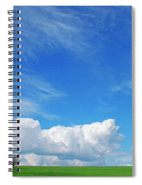 Moving Fast Spiral Notebook