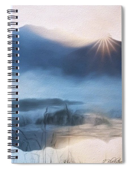 Moving Forward - Inspirational Art Spiral Notebook