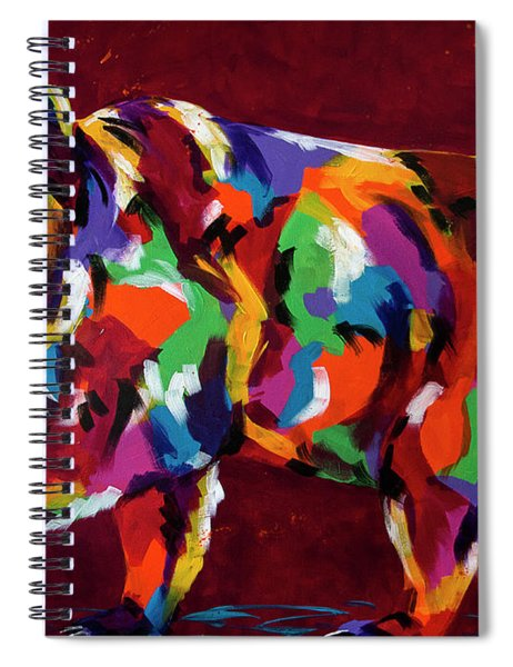 Moving Forward Spiral Notebook