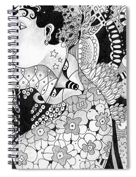 Moving In Circles Spiral Notebook