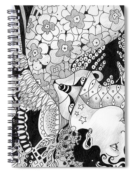 Moving In Circles - The Other Way Around Spiral Notebook