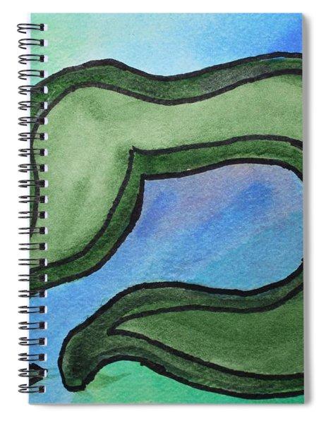 Moving Mem Spiral Notebook