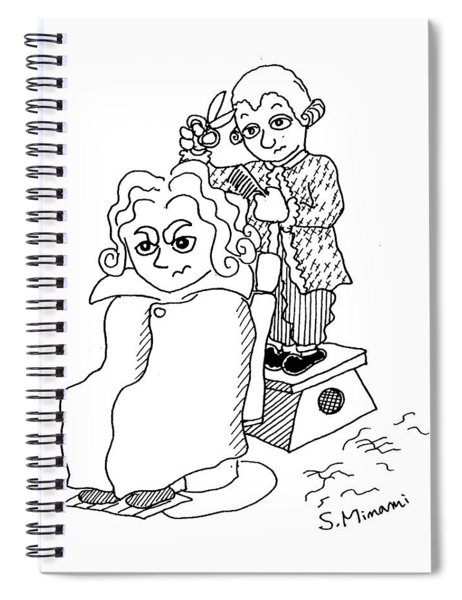 Mozart And Beethoven Spiral Notebook