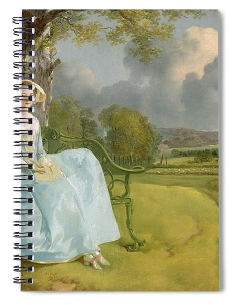 Mr And Mrs Andrews Spiral Notebook
