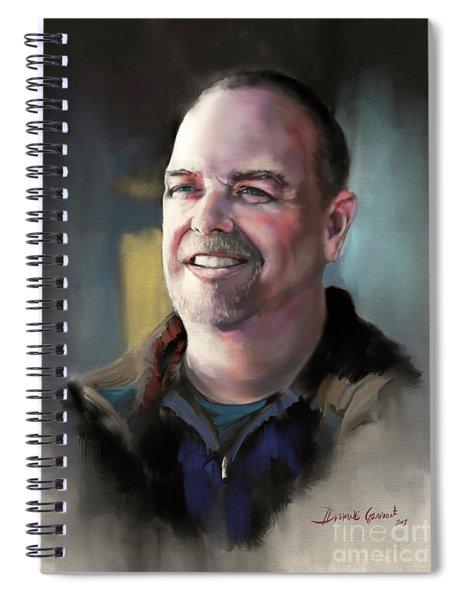 Mr. Mack Spiral Notebook
