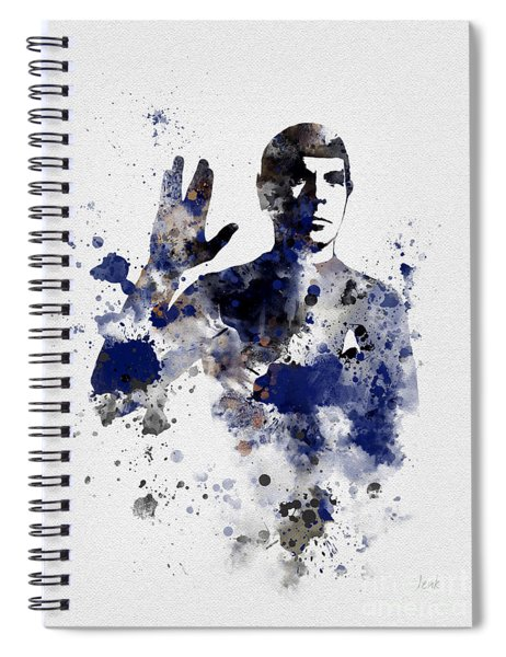 Mr Spock Spiral Notebook