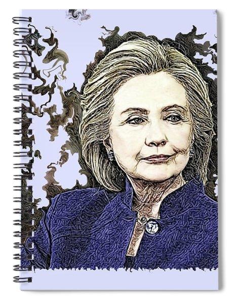 Mrs Hillary Clinton Spiral Notebook