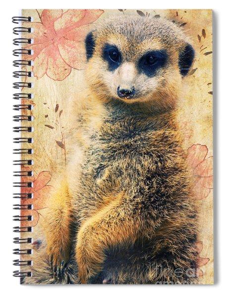 Mrs Suricate Spiral Notebook