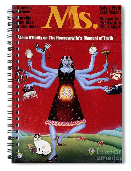 Ms. Magazine, 1972 Spiral Notebook