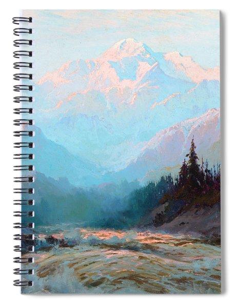 Mt. Mckinley, Alaska Spiral Notebook
