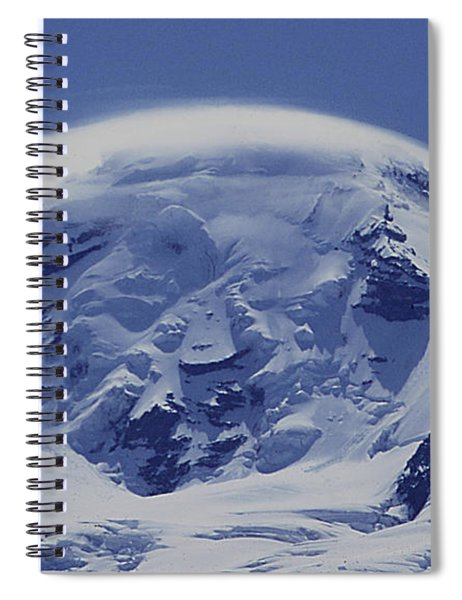 Mt201cloudcap Over Mt. Baker Wa Spiral Notebook