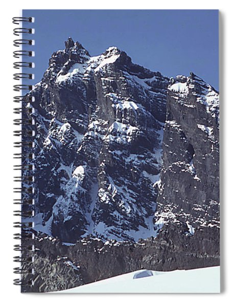 Mt207 North Face Lincoln Peak Wa Spiral Notebook
