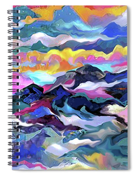 Mts. In The Sea Spiral Notebook