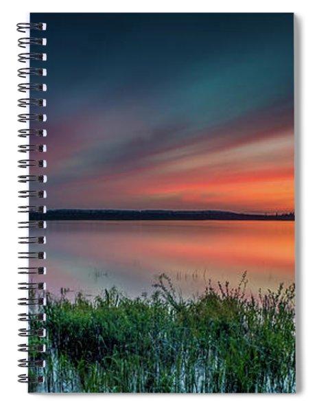 Mud Bay Sunset 4 Spiral Notebook