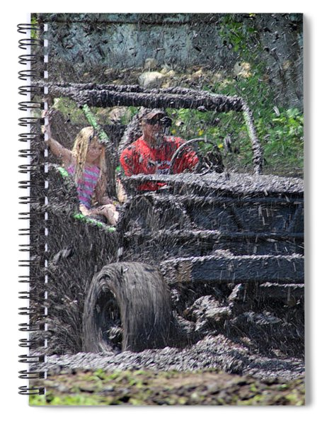 Mud Bogging Spiral Notebook
