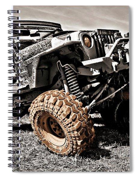 Muddy Super Swamper Tj Spiral Notebook