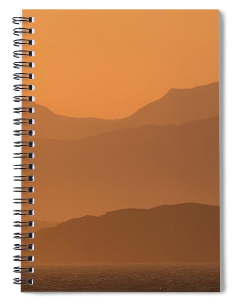 Mull Sunrise Spiral Notebook