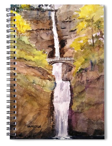 Multnomah Falls Spiral Notebook