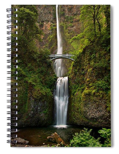 Multnomah Falls Spiral Notebook