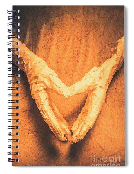 Mummies Love Halloween Spiral Notebook