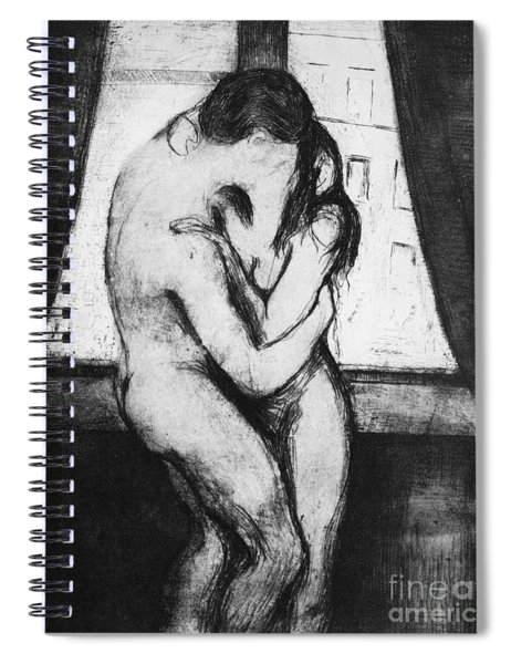 The Kiss, 1895 Spiral Notebook