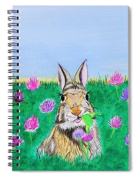 Munching Bunny Spiral Notebook