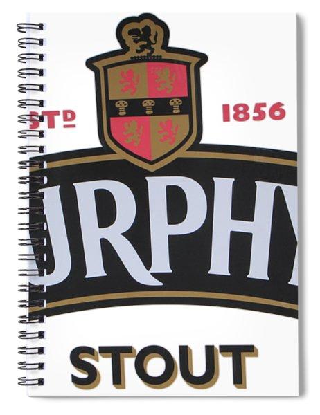 Murphys Irish Stout Spiral Notebook