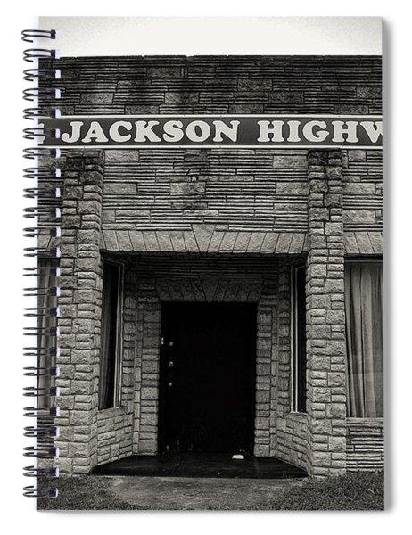 Muscle Shoals Sound Studio Spiral Notebook
