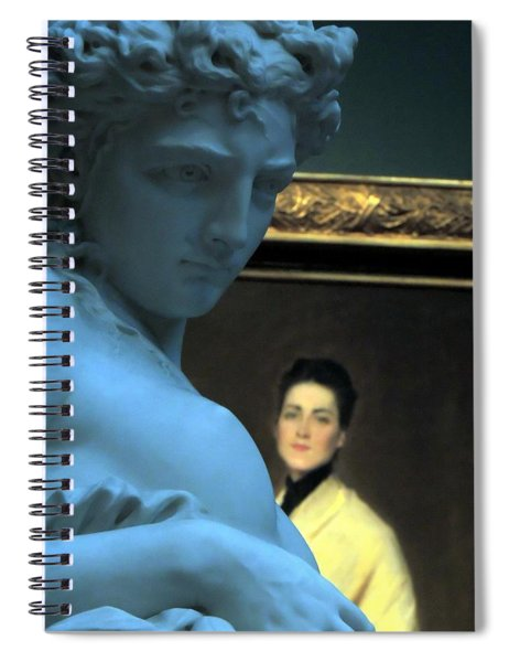 Museum Critic Spiral Notebook