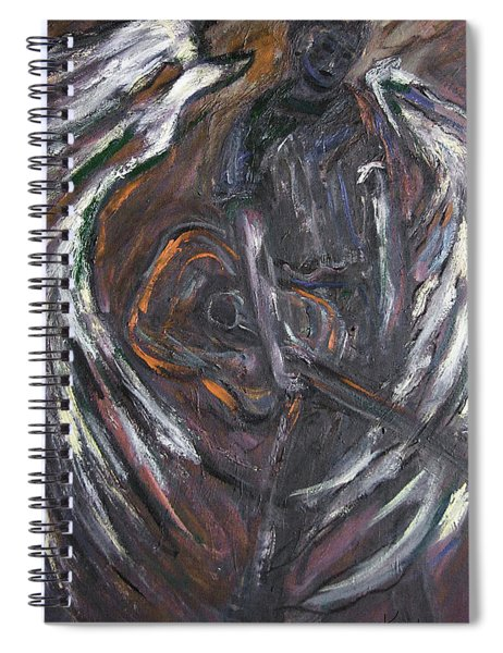 Music Angel Of Broken Wings Spiral Notebook
