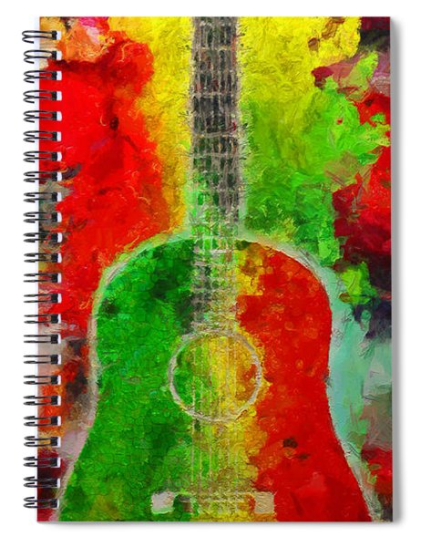 Music Colors Spiral Notebook