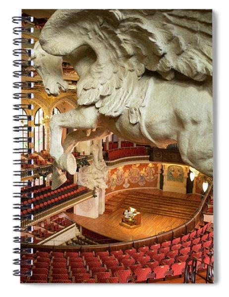 Palau De La Musica Catalana, Barcelona Spiral Notebook