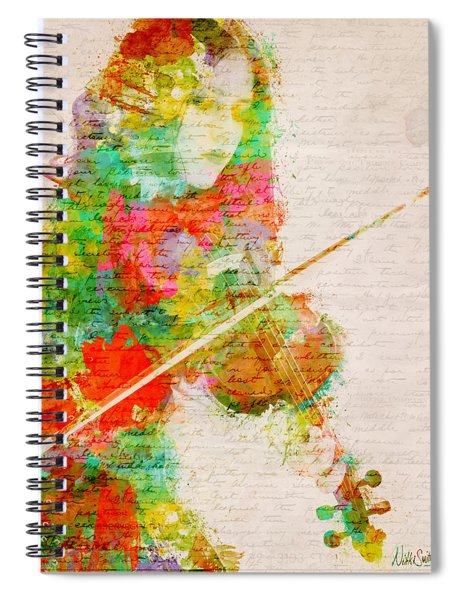 Music In My Soul Spiral Notebook