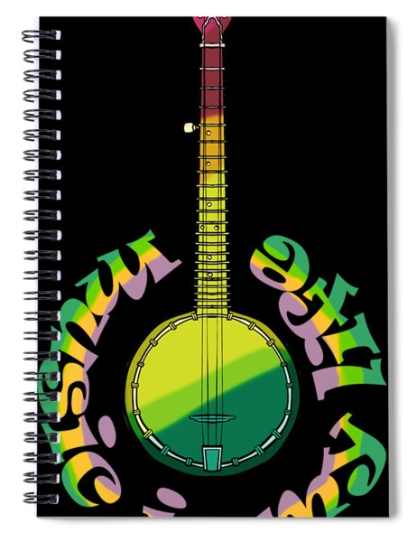 Music Is My Life Spiral Notebook