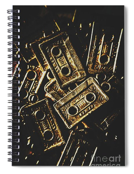Music Nostalgia Spiral Notebook